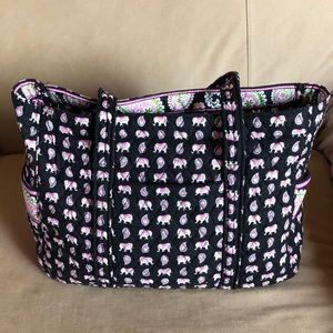 Vera Bradley Elephant baby bag